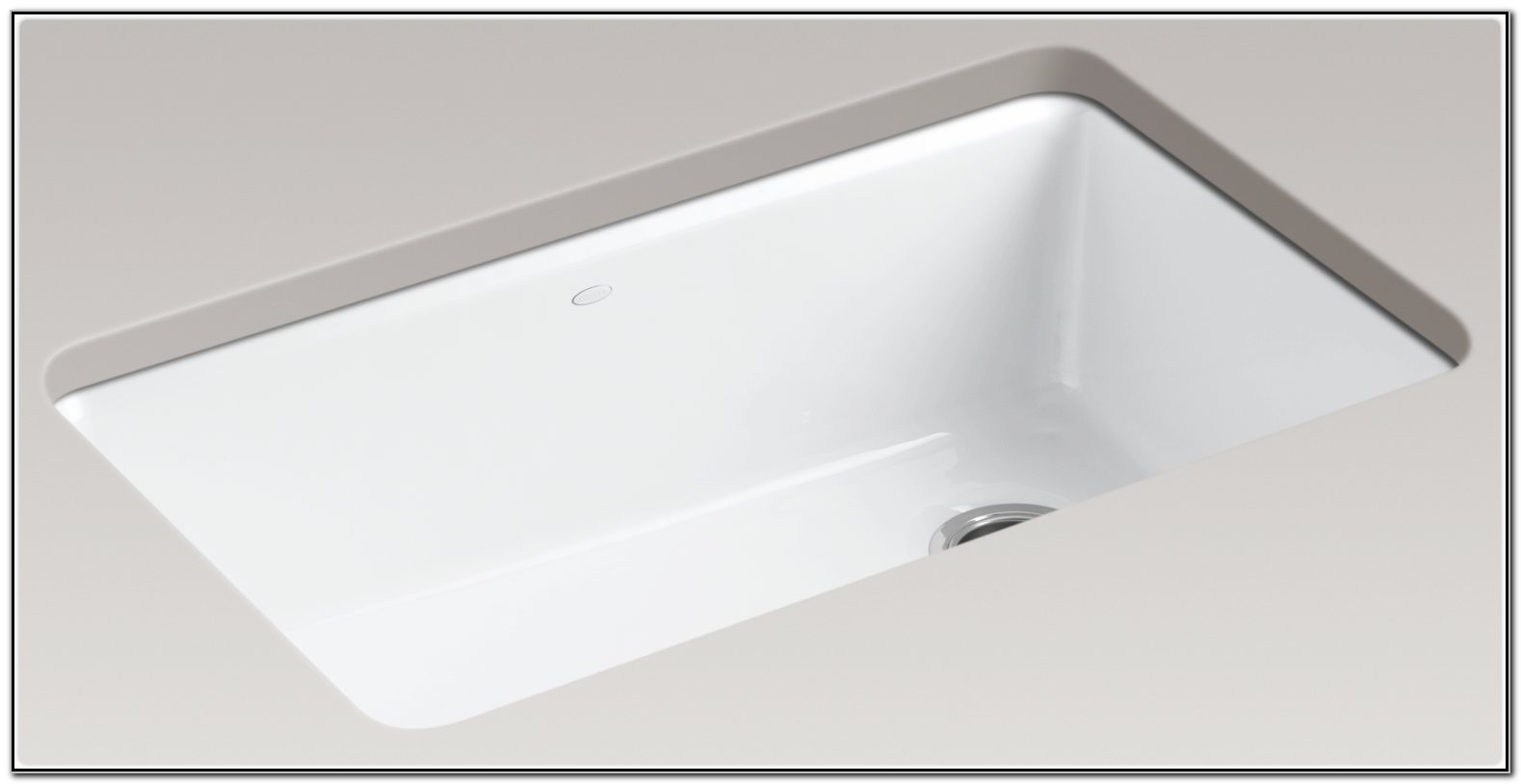 Kohler Single Bowl Undermount Kitchen Sink