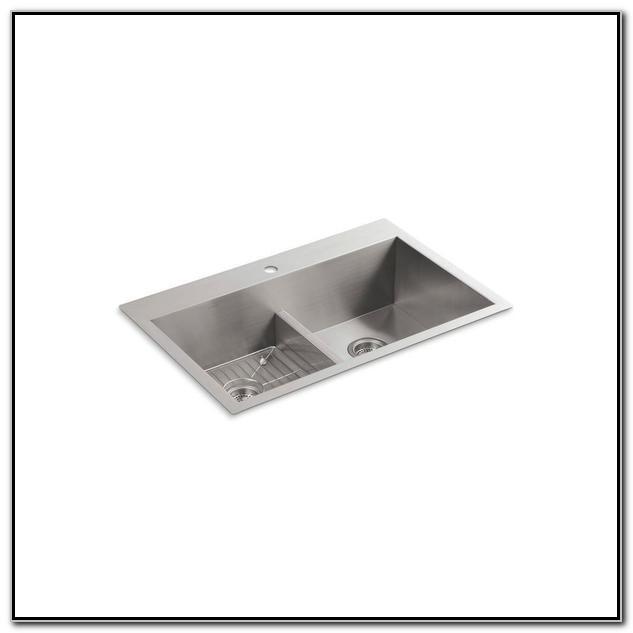 Kohler Smart Divide Sink Stainless Steel
