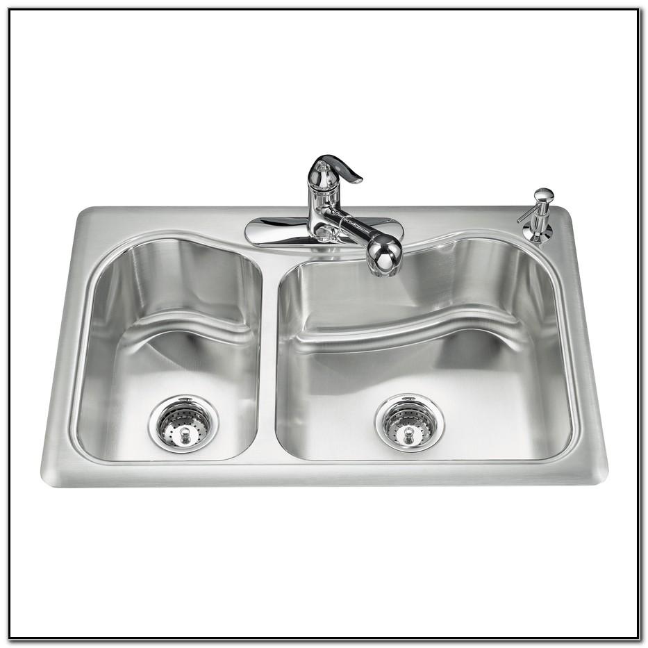 Kohler Stainless Steel Drop In Kitchen Sinks