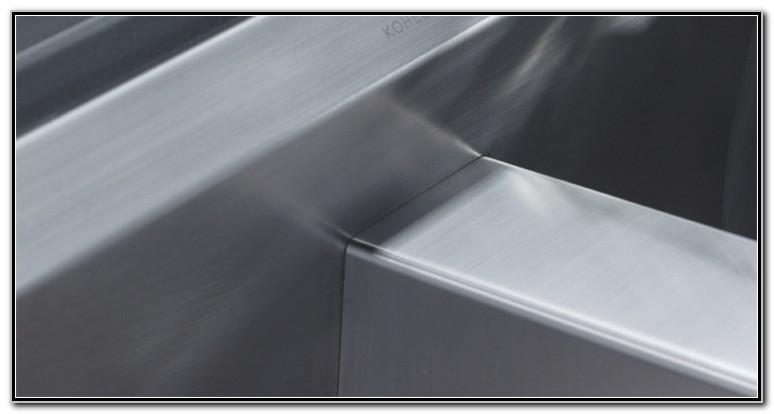 Kohler Stainless Steel Sinks Care