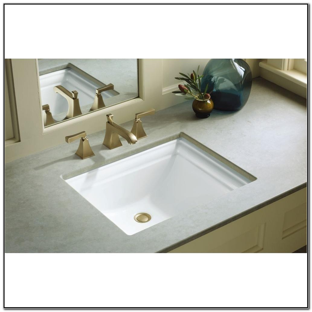 Kohler Undermount Bathroom Sink White