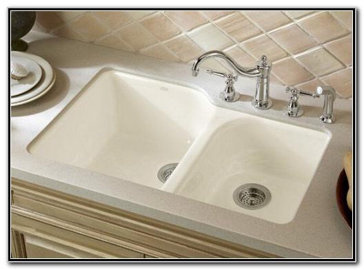 Kohler Undermount Cast Iron Kitchen Sinks