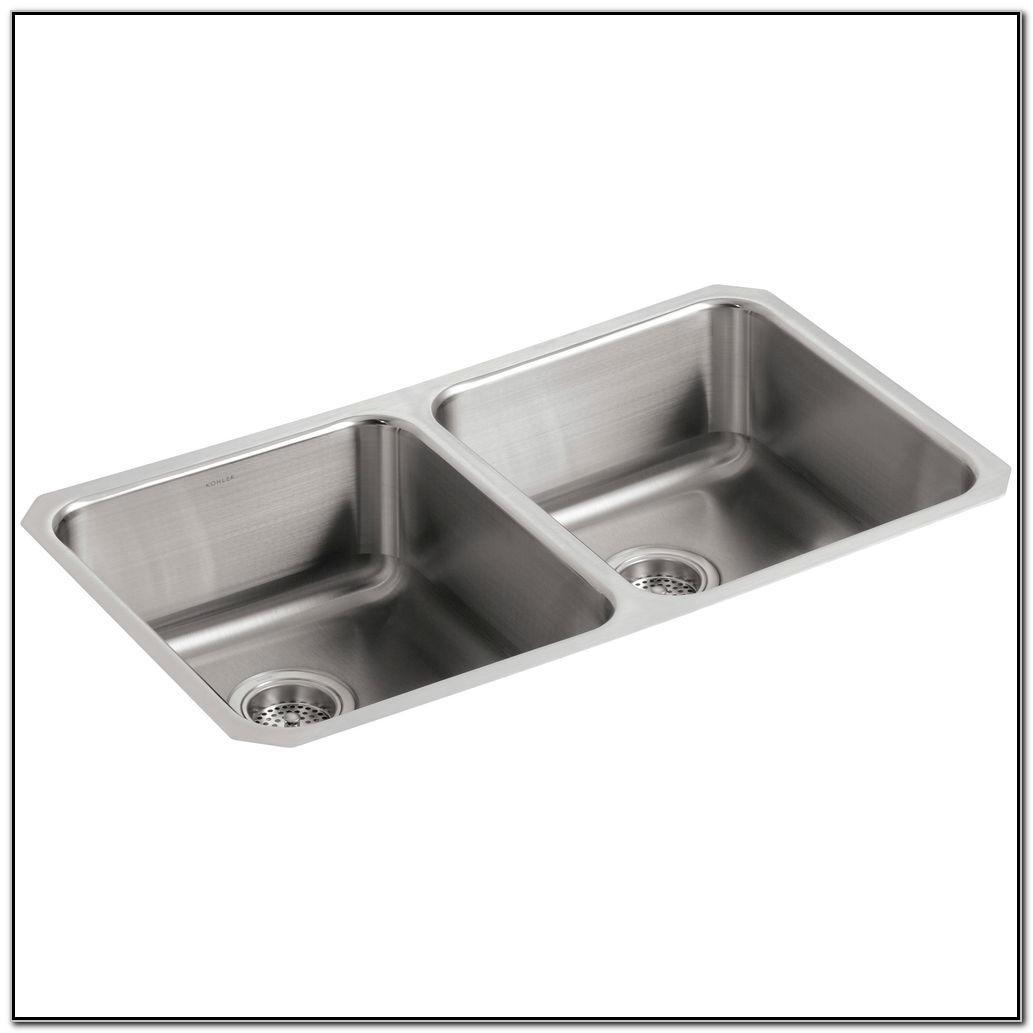 Kohler Undermount Double Bowl Kitchen Sink