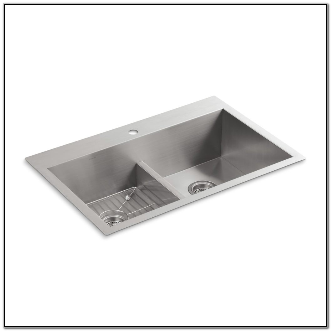 Kohler Undermount Kitchen Sink Smart Divide