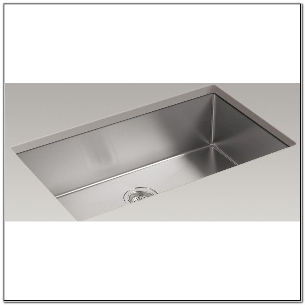 Kohler Undermount Single Bowl Kitchen Sinks