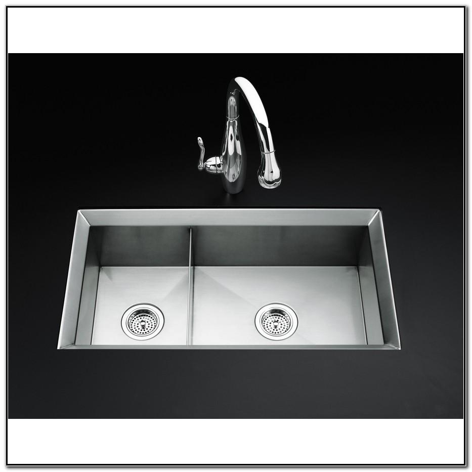 Kohler Undermount Stainless Kitchen Sinks
