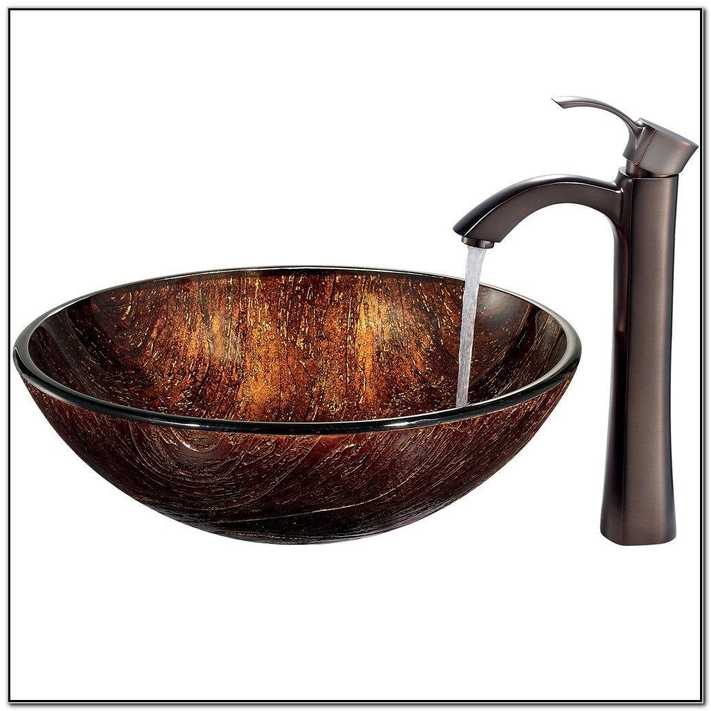 Kohler Vessel Sink Faucet Oil Rubbed Bronze