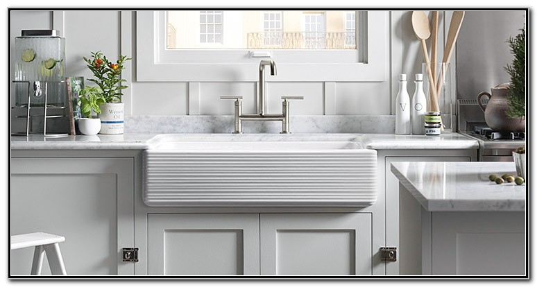Kohler Whitehaven Smart Divide Sink