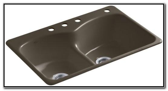 Kohler Woodfield Smart Divide Sink
