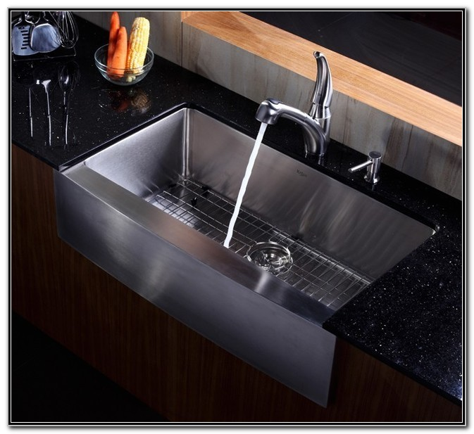 Kraus Farmhouse Sink 36