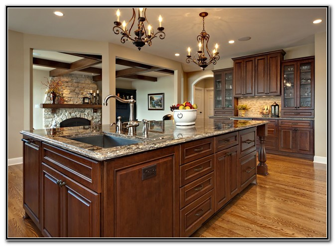 Large Kitchen Island With Sink And Dishwasher