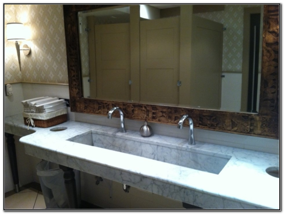 Large Undermount Bathroom Sinks