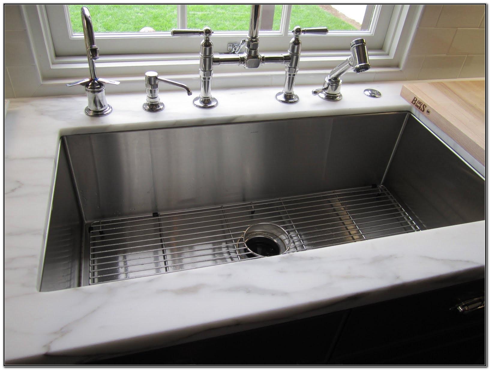Large Undermount Kitchen Sinks