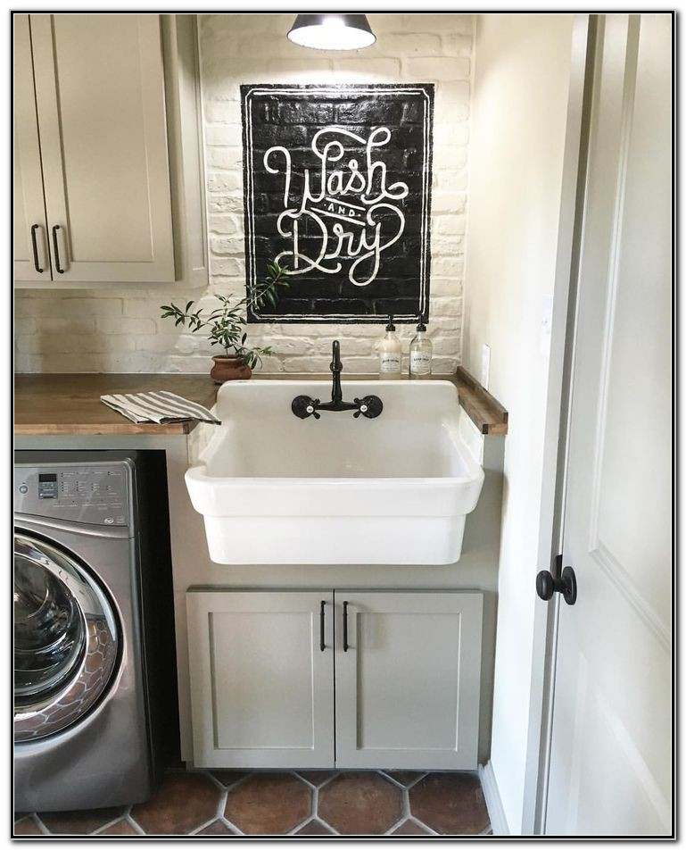 Laundry Room Sink Ideas Pinterest