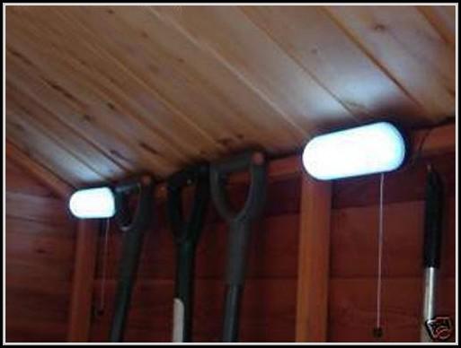 Led Solar Shed Light