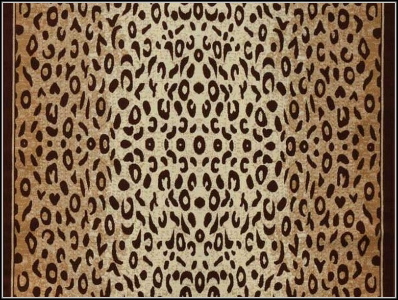 Leopard Print Area Rugs Cheap