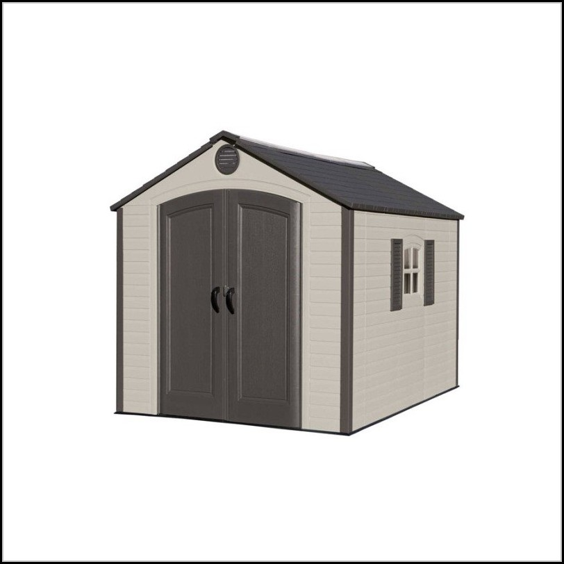 Lifetime 8x10 Outdoor Storage Shed