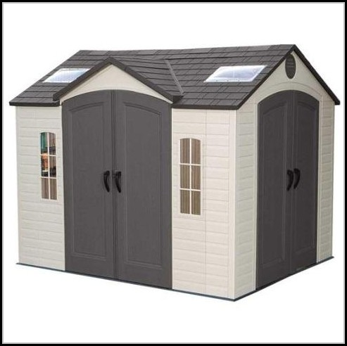 Lifetime Brighton 8 X 10 Storage Shed