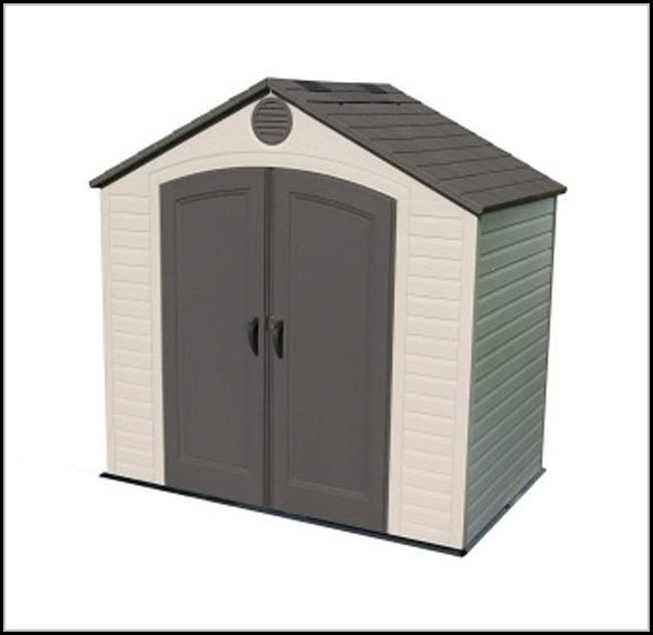 Lifetime Plastic Outdoor Storage Shed