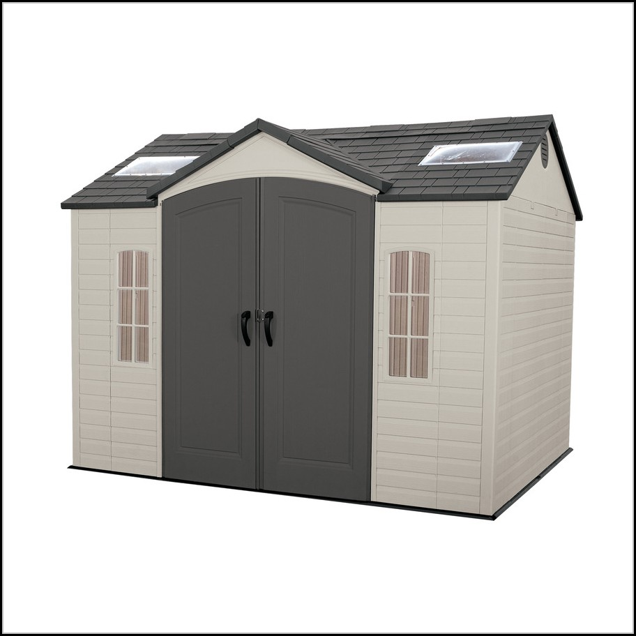 Lifetime Products Gable Storage Shed