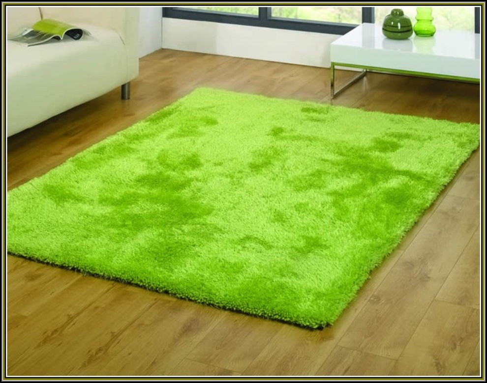 Lime Green Area Rug