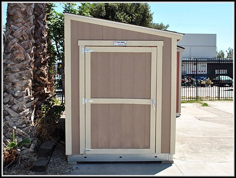 Metal Lean To Garden Sheds