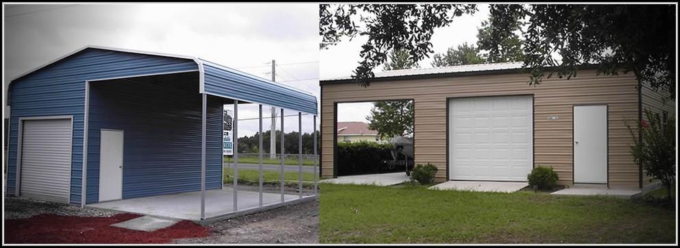 Metal Sheds Garages Florida