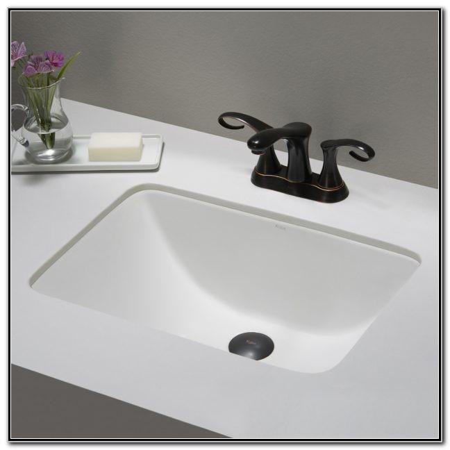 Mini Undermount Bathroom Sink