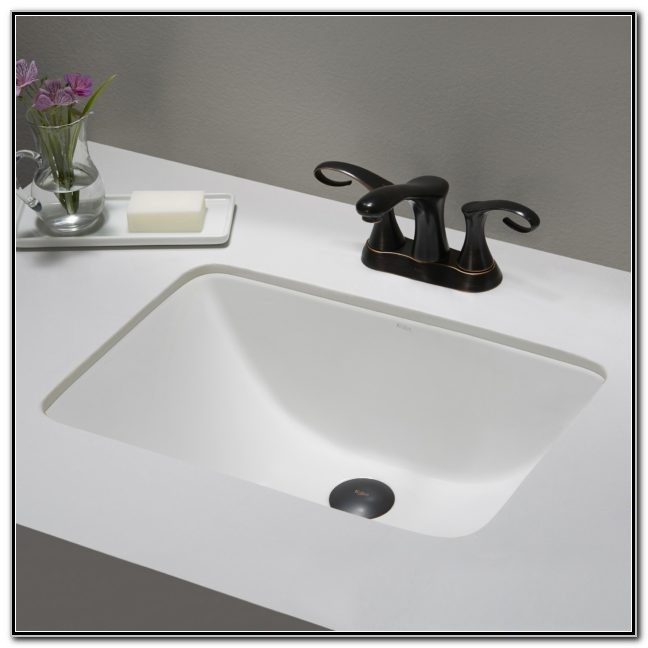 Mini Undermount Bathroom Sinks