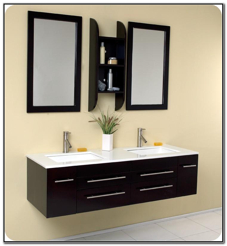Modern Double Sink Vanity