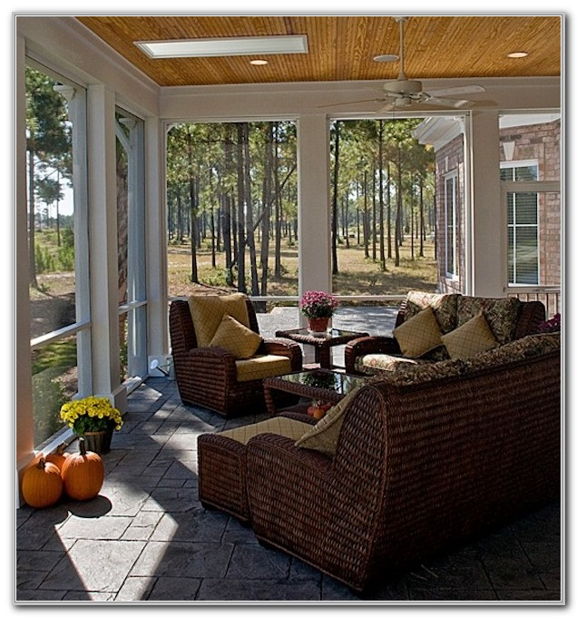 Modern Sunroom Furniture Ideas
