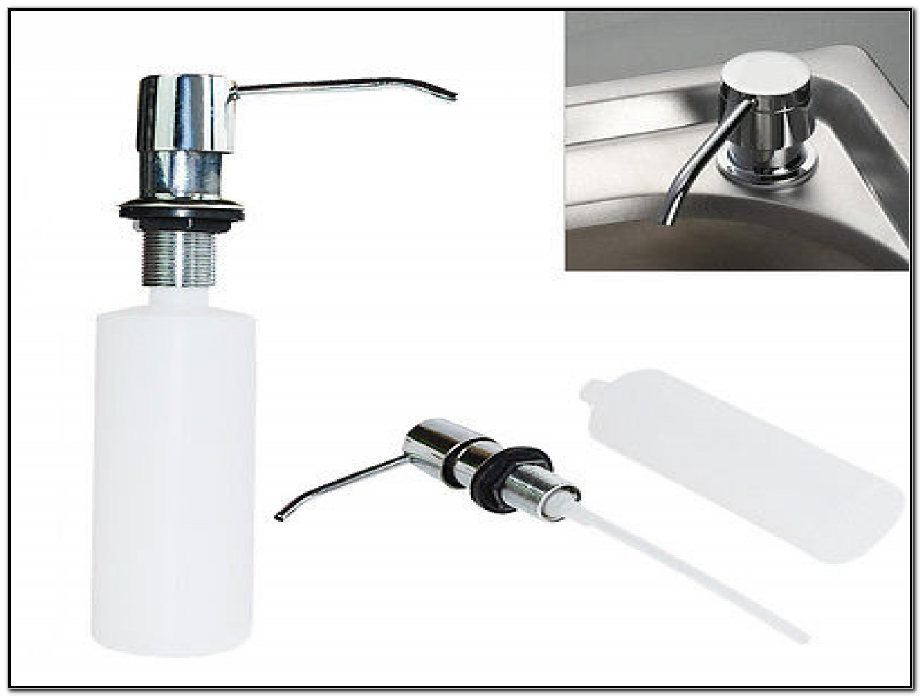Moen Kitchen Sink Soap Dispenser Bottle