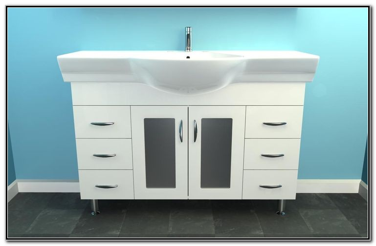 Narrow Bathroom Sink Cabinet