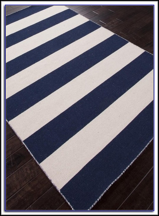 Navy And White Striped Rugby Shirts