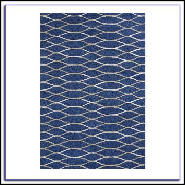 Navy Blue Area Rug 5x8