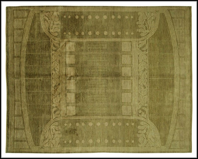 Olive Green Area Rug