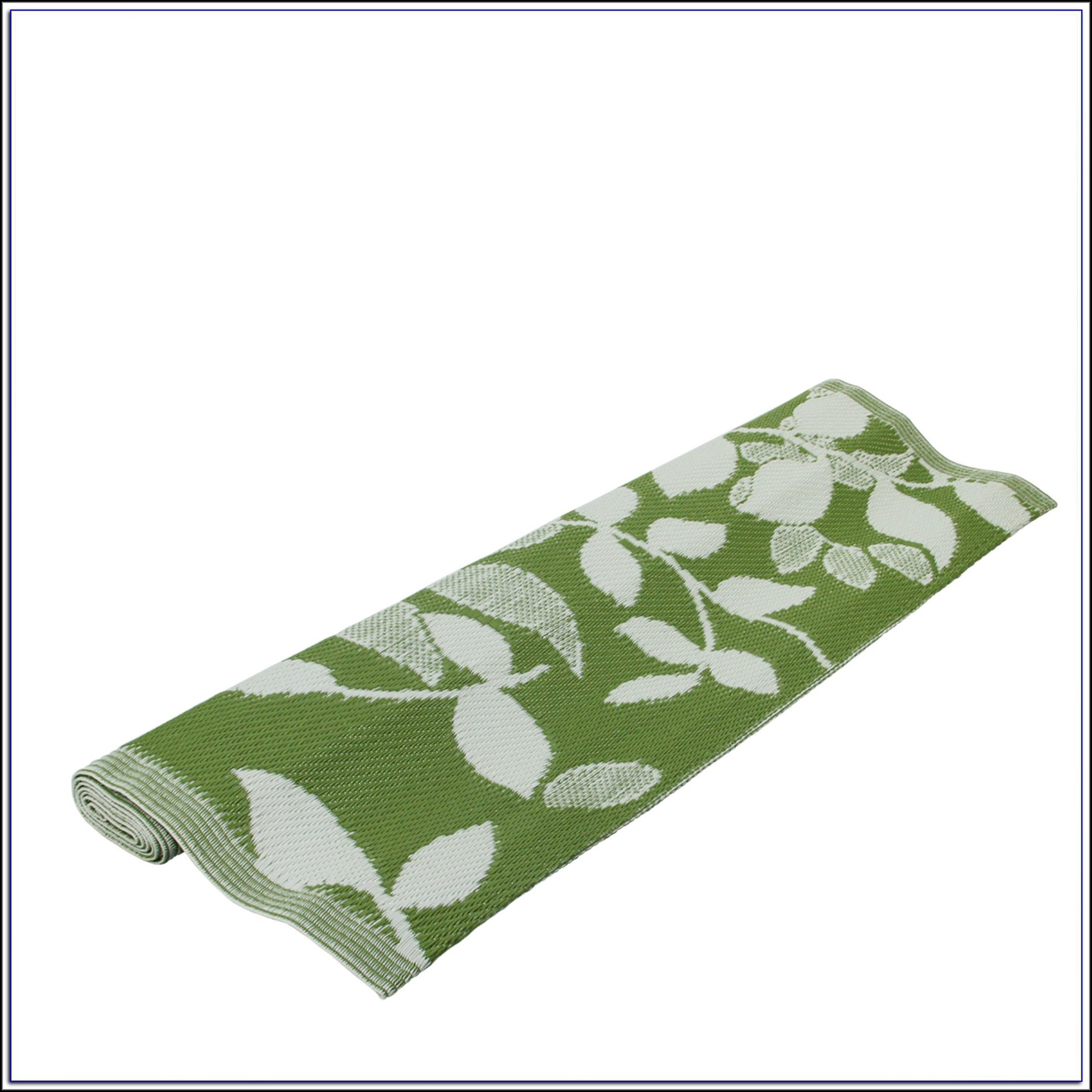 Olive Green Throw Rug