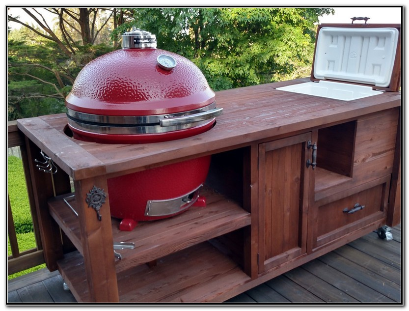Outdoor Prep Table With Sink