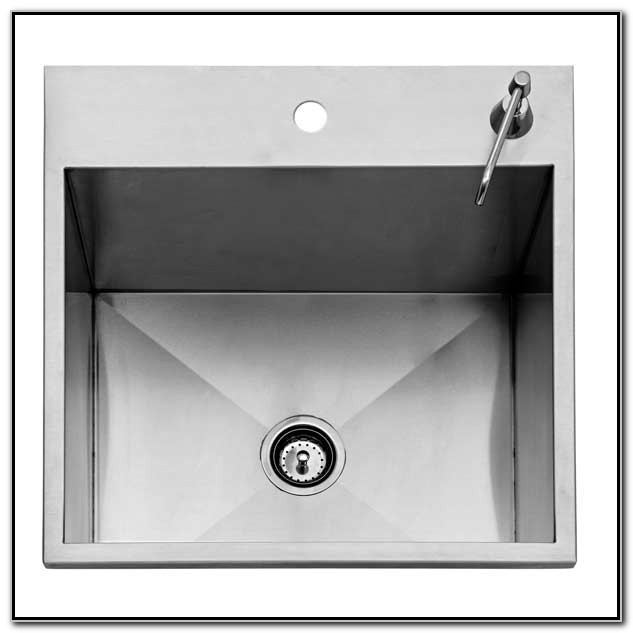 Outdoor Stainless Steel Sink With Cover