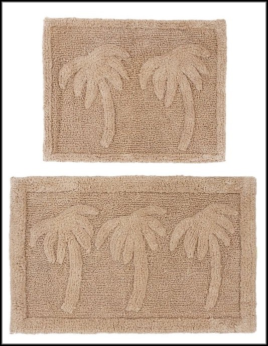 Palm Tree Bath Rug