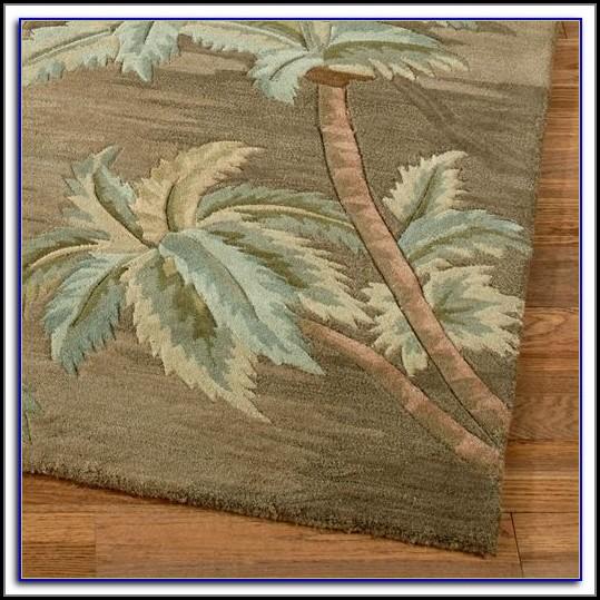 Palm Tree Bathroom Rugs