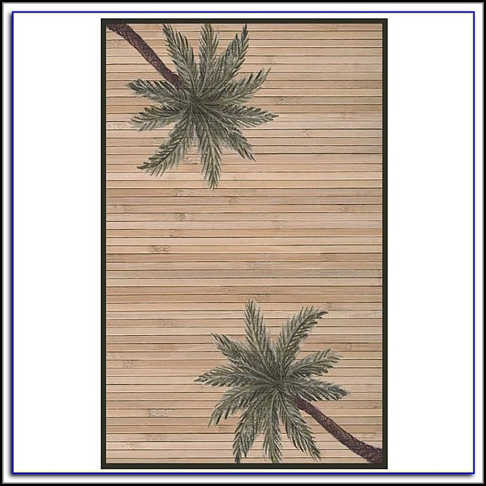 Palm Tree Rug Runners