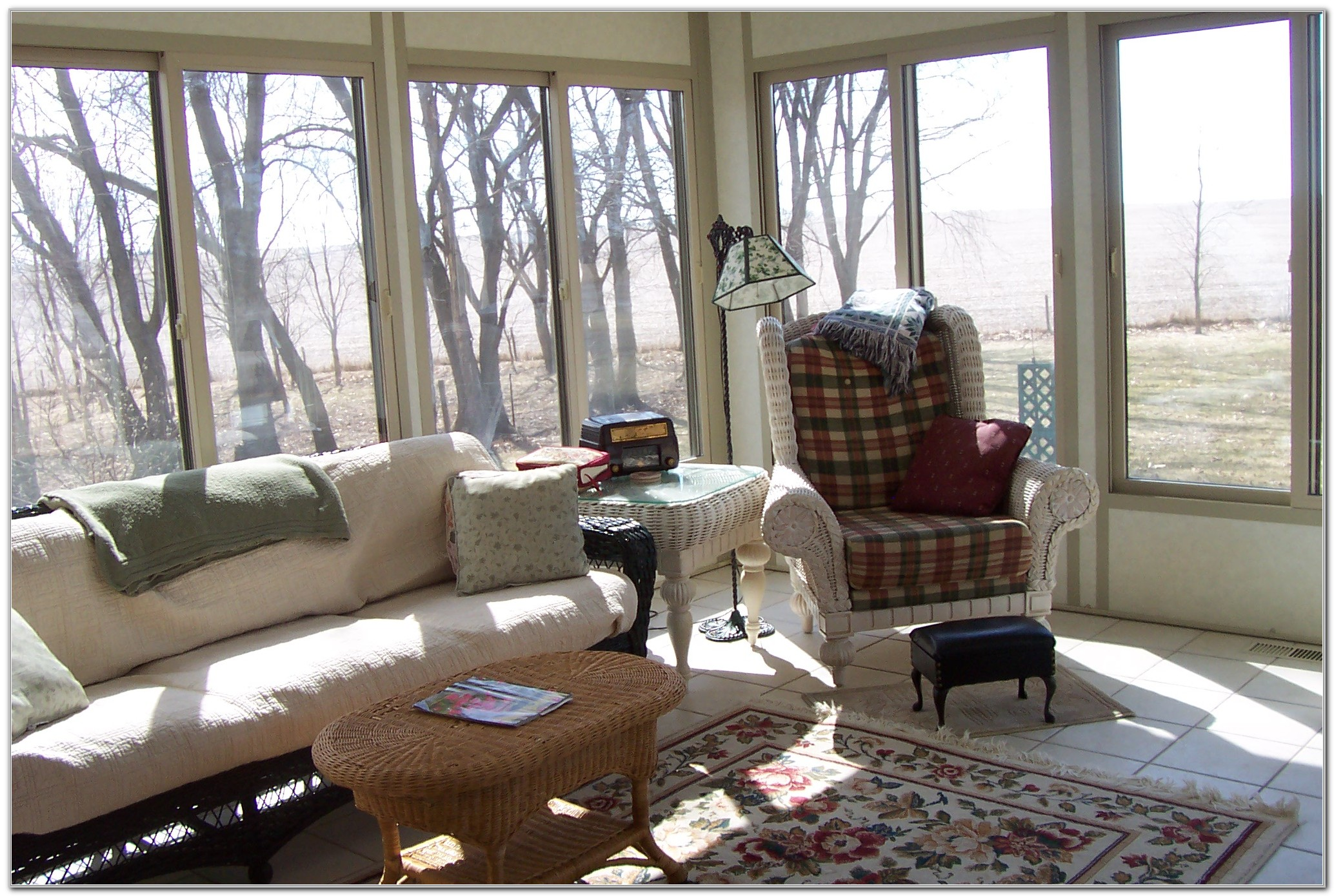 Pictures Of Small Decorated Sunrooms