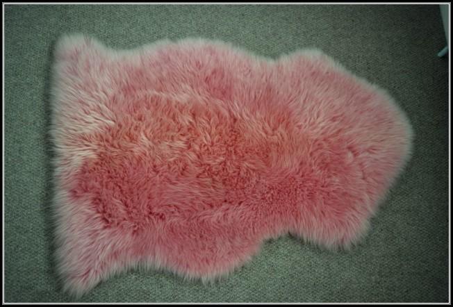 Pink Sheepskin Rug John Lewis