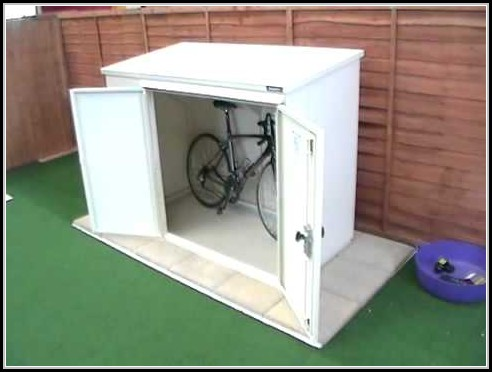 Plastic Bicycle Storage Shed