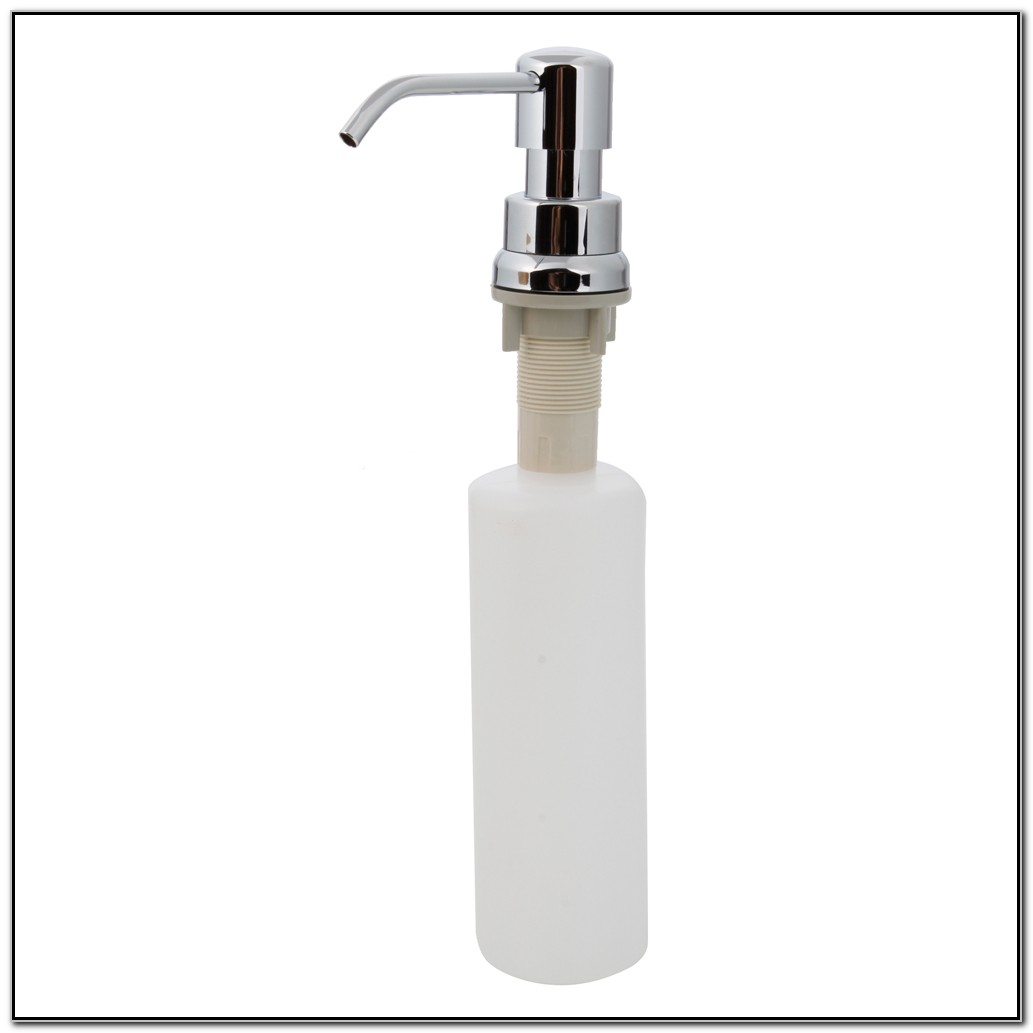 Plastic Bottle For Kitchen Sink Soap Dispenser