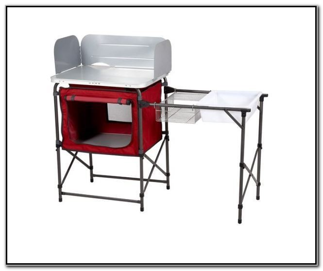 Portable Prep Table With Sink