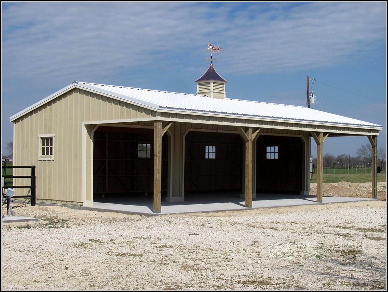 Prefab Shed Row Horse Barns