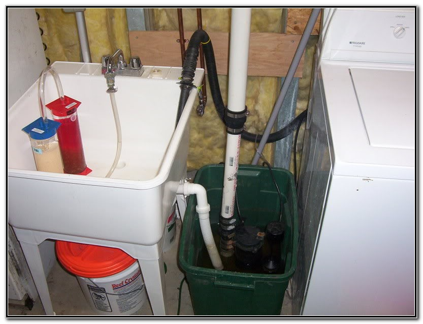 Pump For Basement Sink