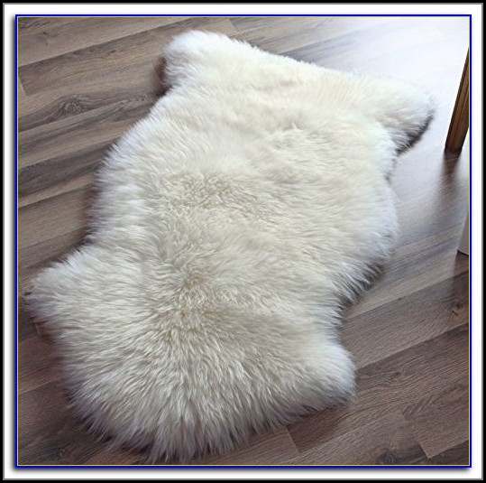Real Sheepskin Rug Ebay